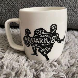 Aquarius Zodiac Porcelain Mug